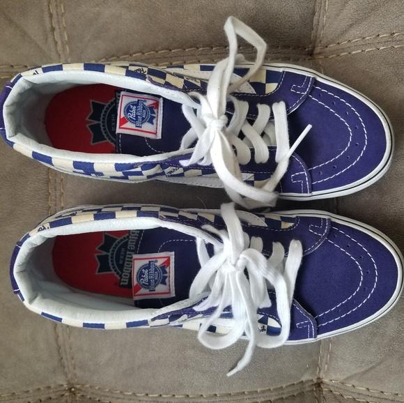 Rare Pabst Blue Ribbon Vans   Poshmark